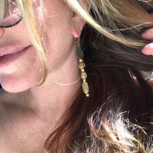 Ofamerin by Tawny Kitaen Jewelry - Beautiful long regal/& hip earrings!!